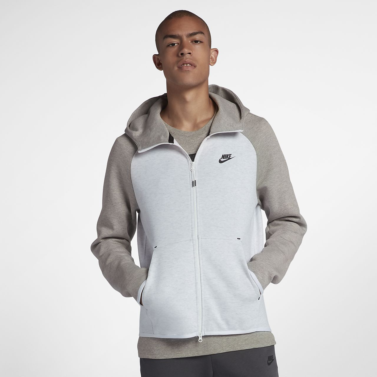 20dadab9bb30 Nike Sportswear Tech Fleece Men s Full-Zip Hoodie. Nike.com GB