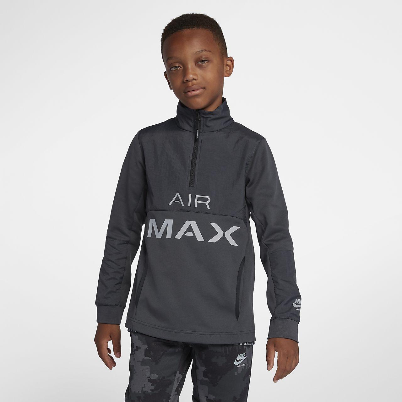 2cc6b2ede76 Veste de survêtement Nike Air Max pour Garçon plus âgé. Nike.com CA