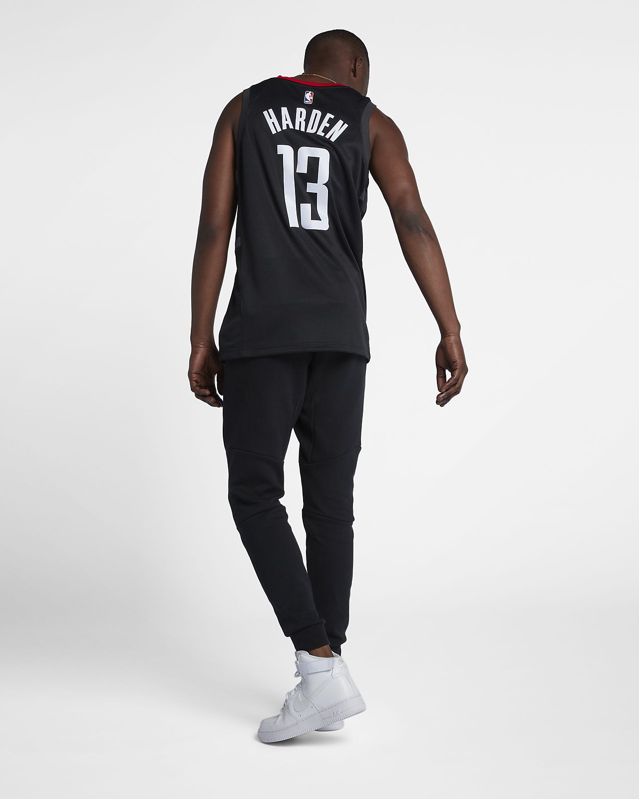 newest 7edd6 f060d James Harden Statement Edition Swingman (Houston Rockets) Men's Nike NBA  Connected Jersey