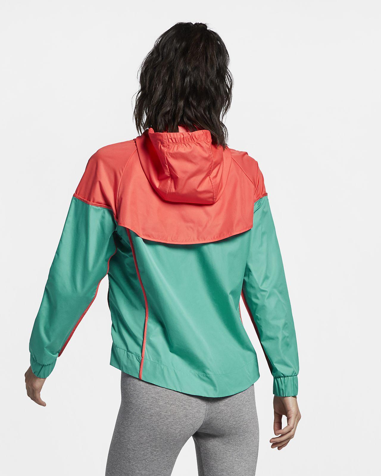 b1fa7148 Vævet Nike Sportswear Windrunner-vindjakke til kvinder. Nike.com DK
