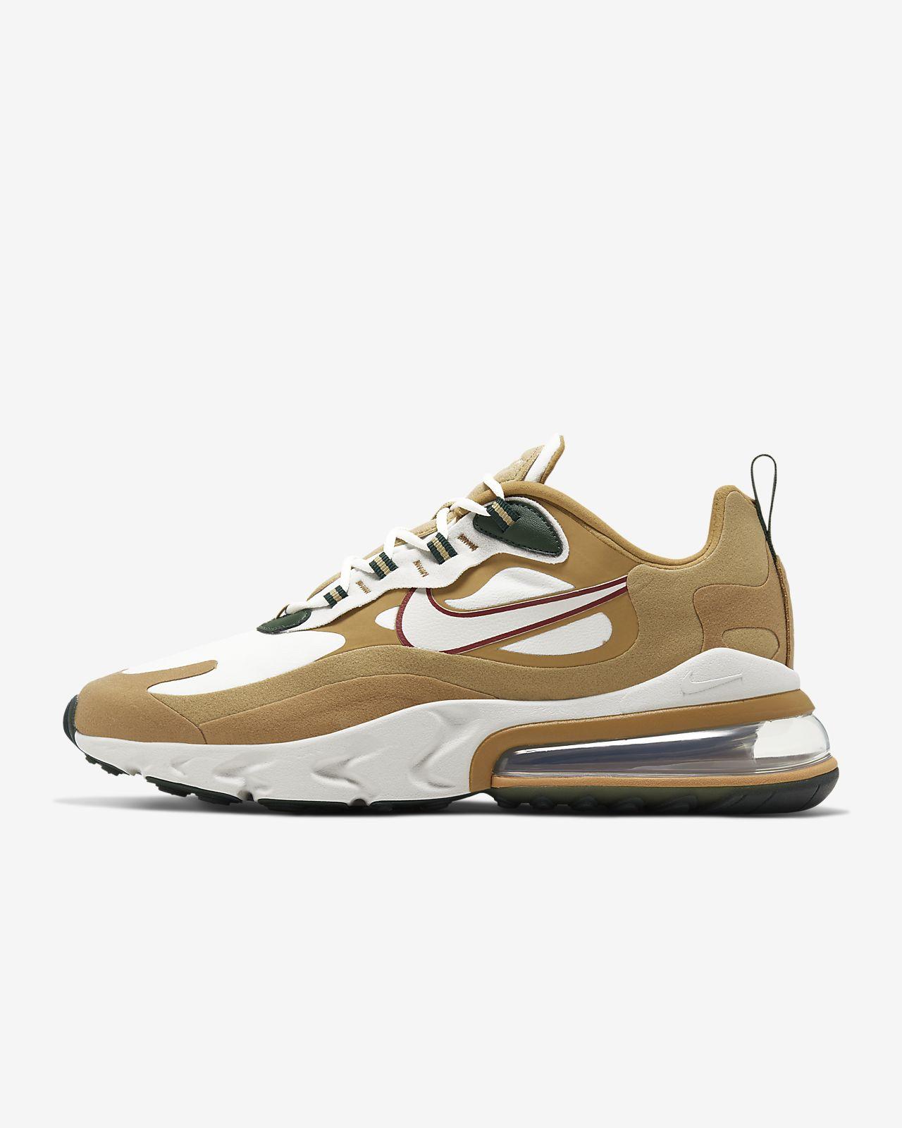 Nike Air Max 270 React (Reggae) Men's Shoes