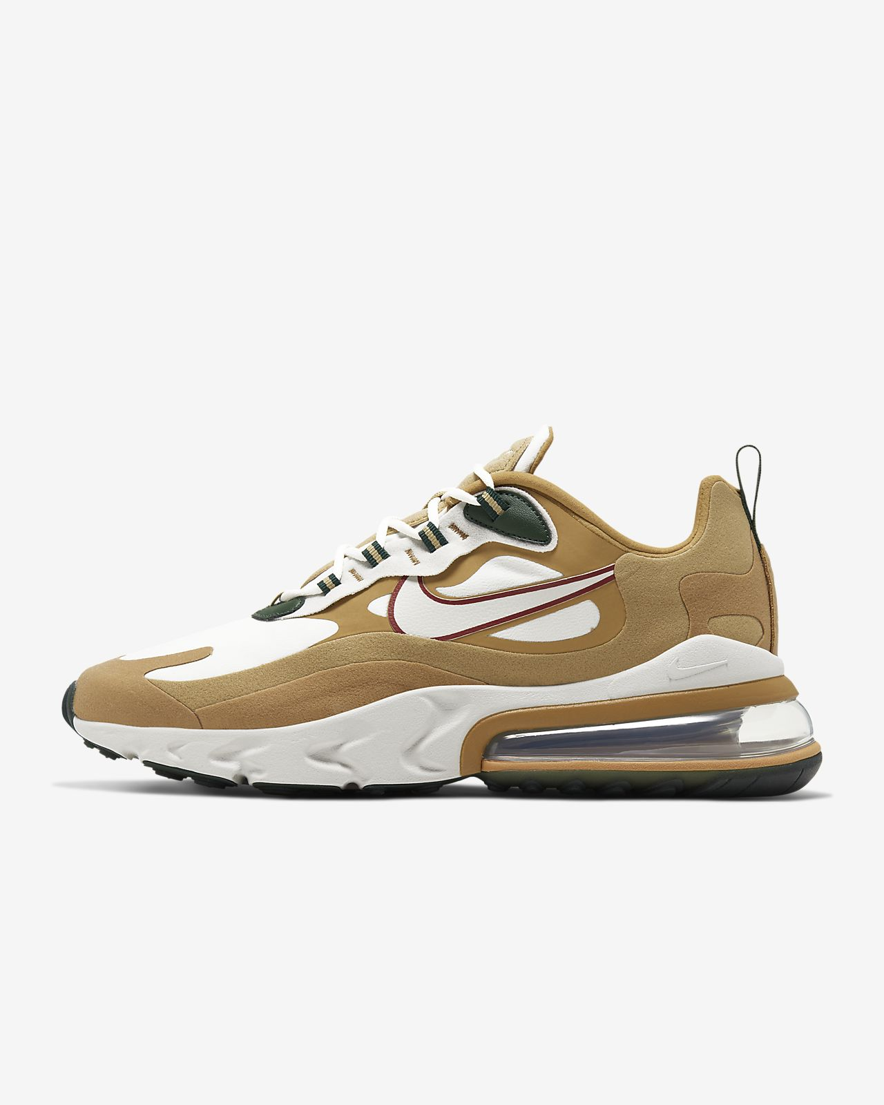 another chance autumn shoes hot sales Nike Air Max 270 React Men's Shoe. Nike LU
