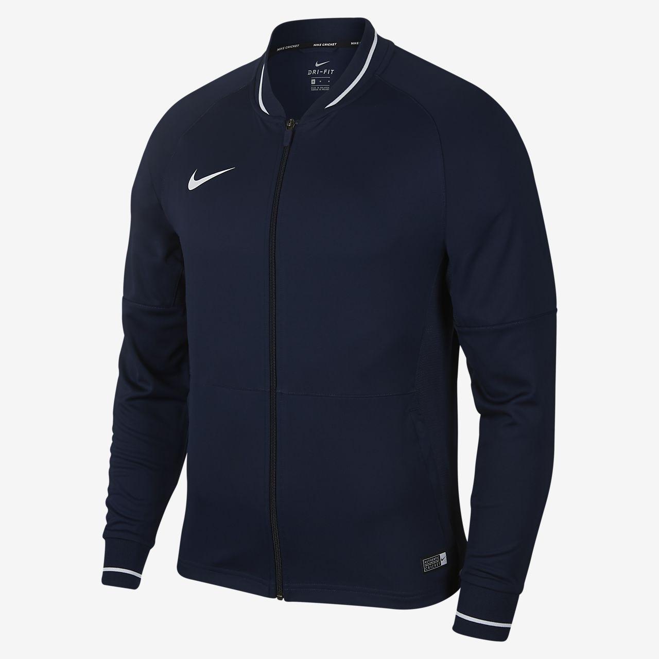 c4bfd191 Nike Dri-FIT Men's Full-Zip Cricket Jacket. Nike.com IN