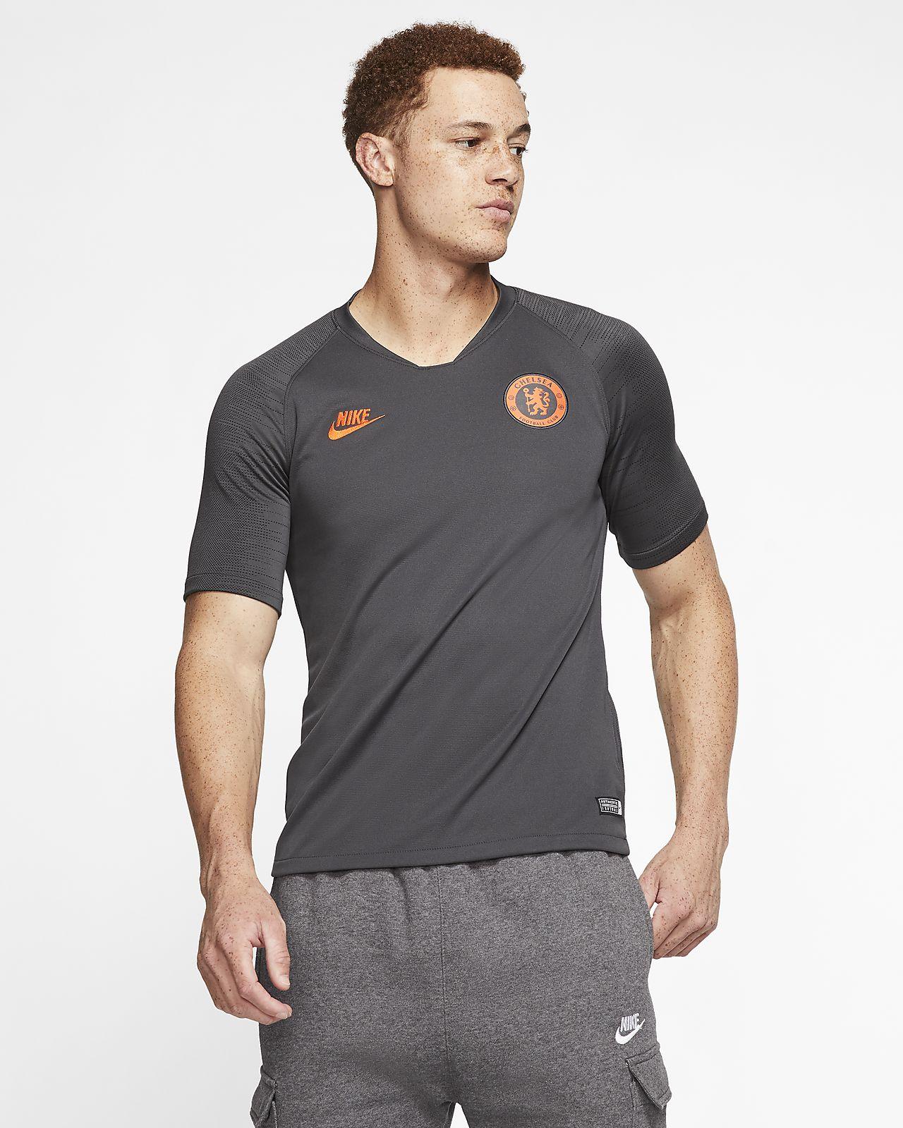Pánské fotbalové tričko Nike Breathe Chelsea FC Strike s krátkým rukávem