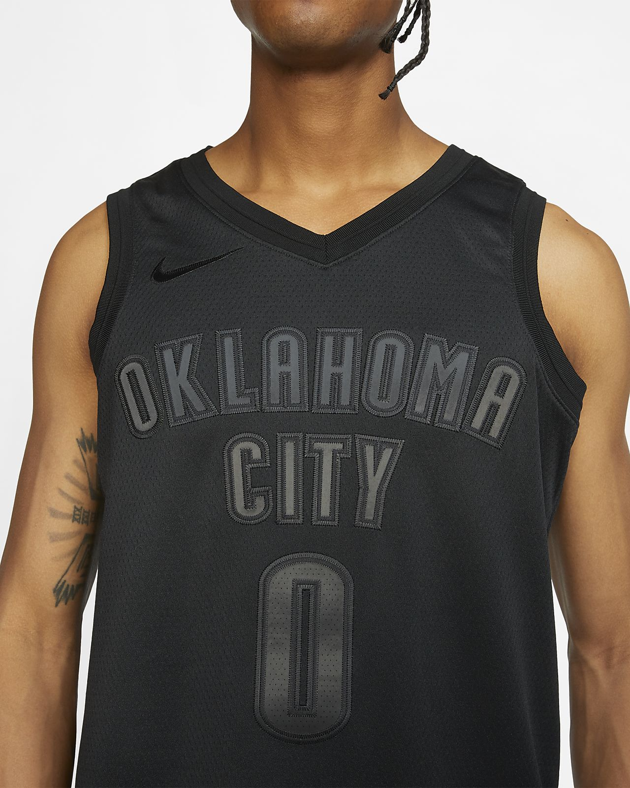 best service feb64 d20c2 Russell Westbrook MVP Swingman (Oklahoma City Thunder) Men's Nike NBA  Connected Jersey