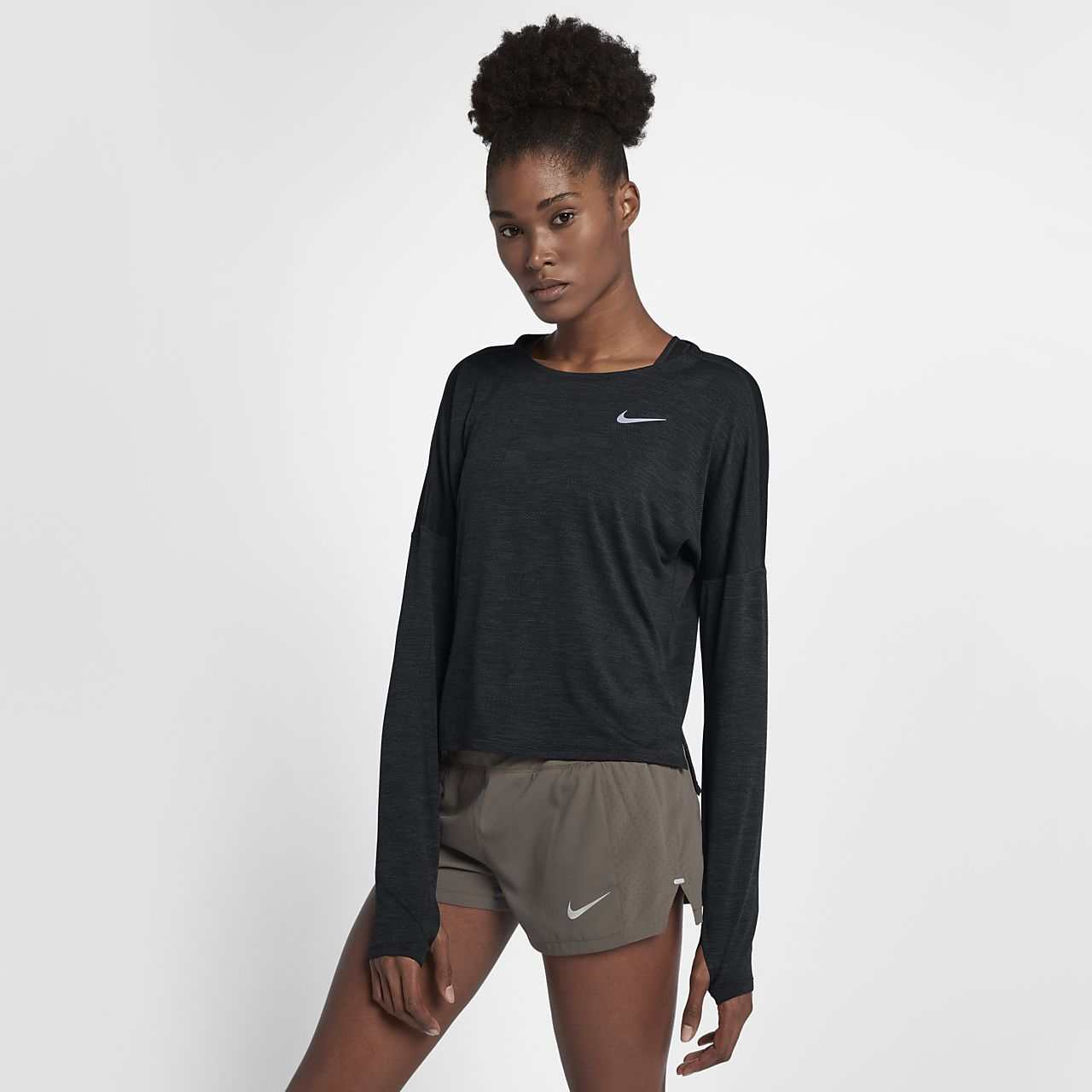 Nike Dri-FIT Medalist Women Long-Sleeve Running Top