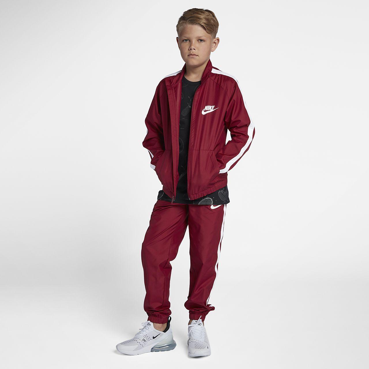 Nike Sportswear Older Kids Boys Tracksuit Nikecom Bg-9660
