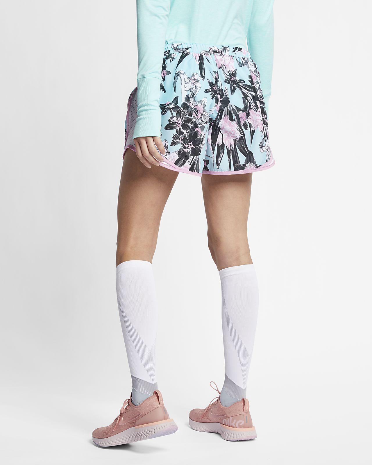 new arrivals 711a1 06d5f ... Short de running à motif floral Nike Tempo pour Femme