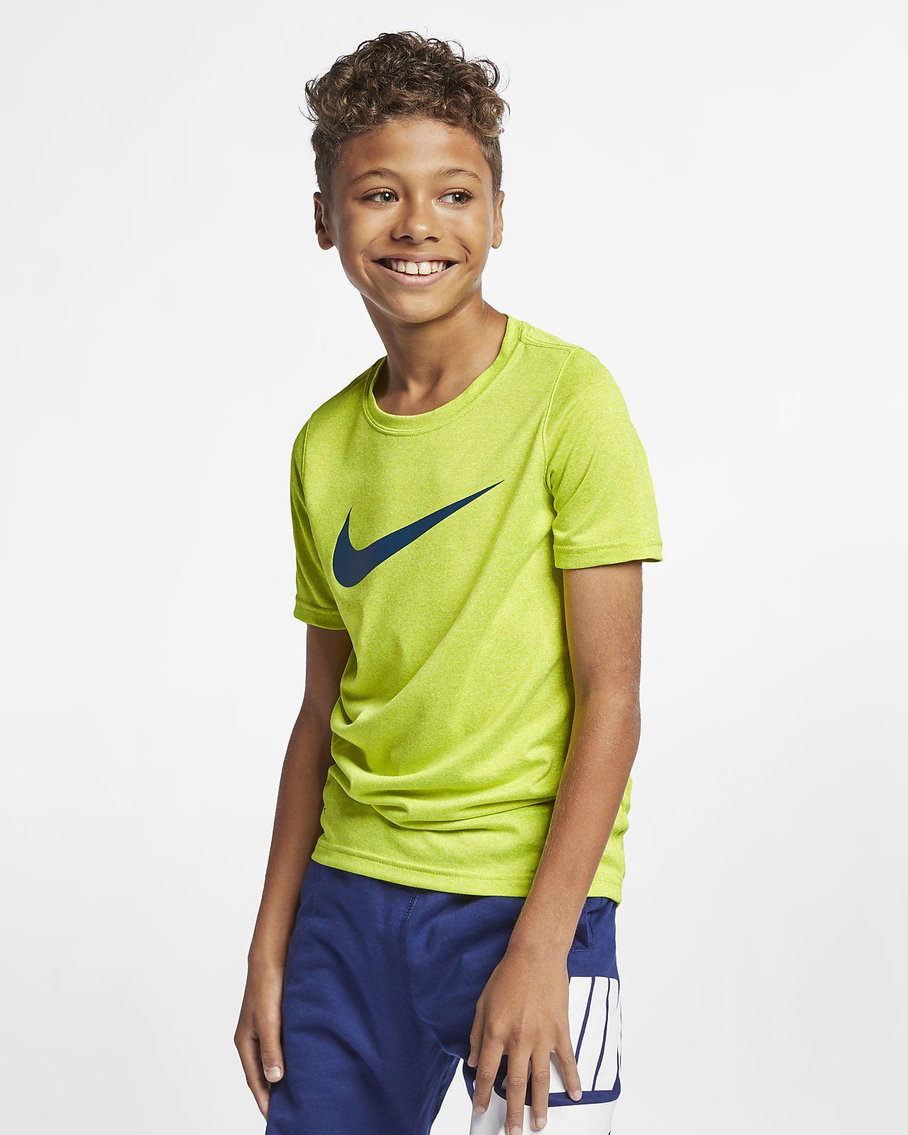 ff199ebef8a Nike Dri-FIT Big Kids  (Boys ) Training T-Shirt. Nike.com