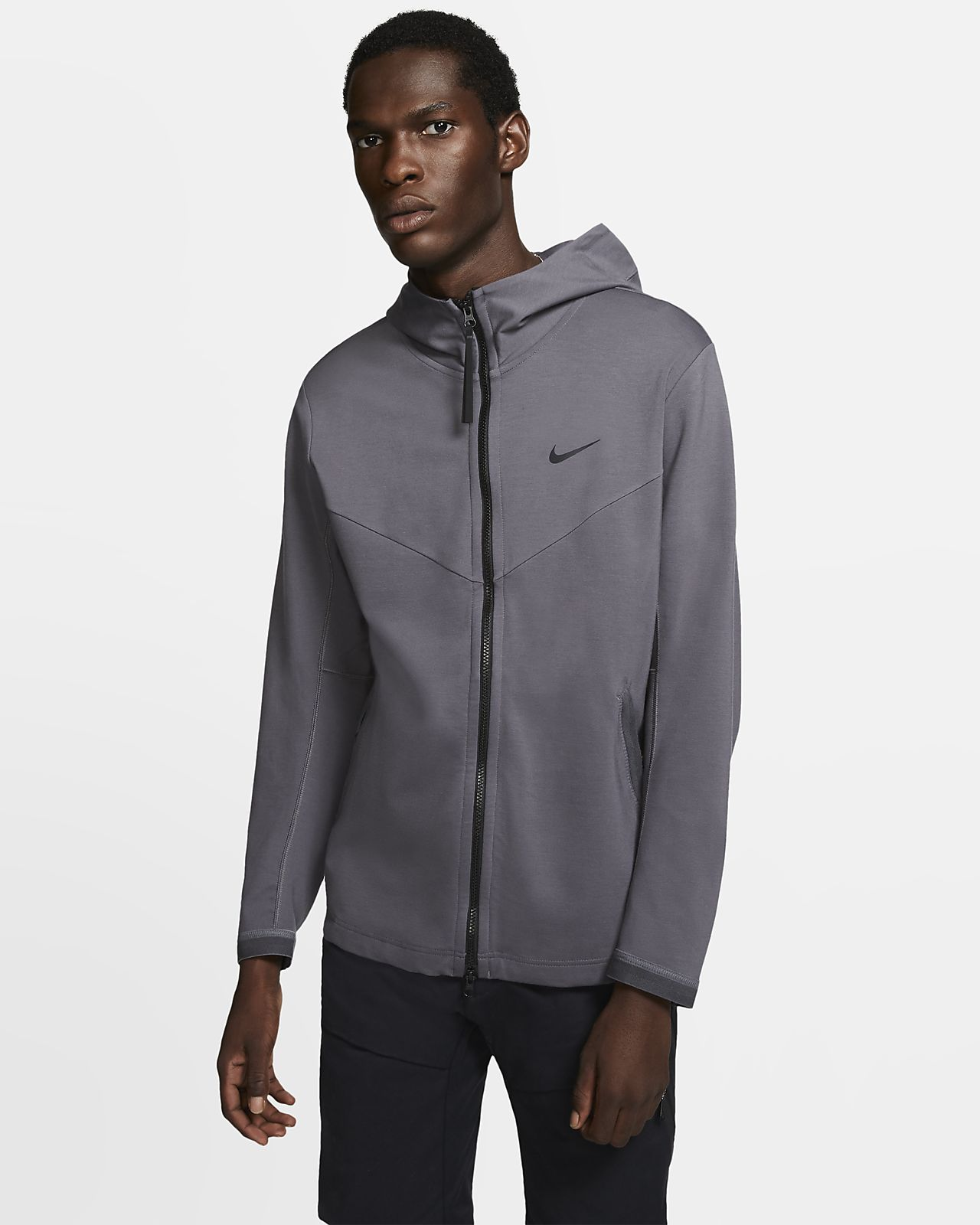 Huvjacka med hel dragkedja Nike Sportswear Tech Pack för män