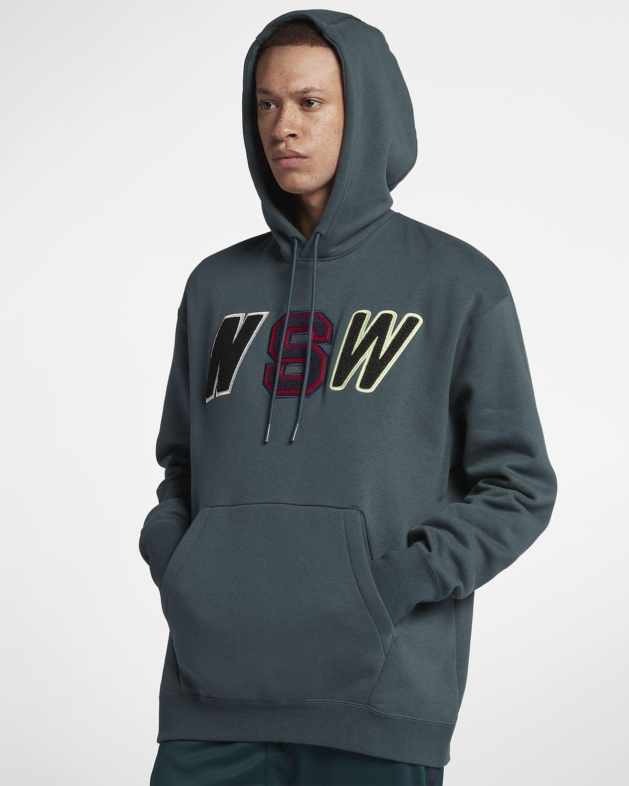 nike sportswear nsw men s loose fit fleece hoodie nike com