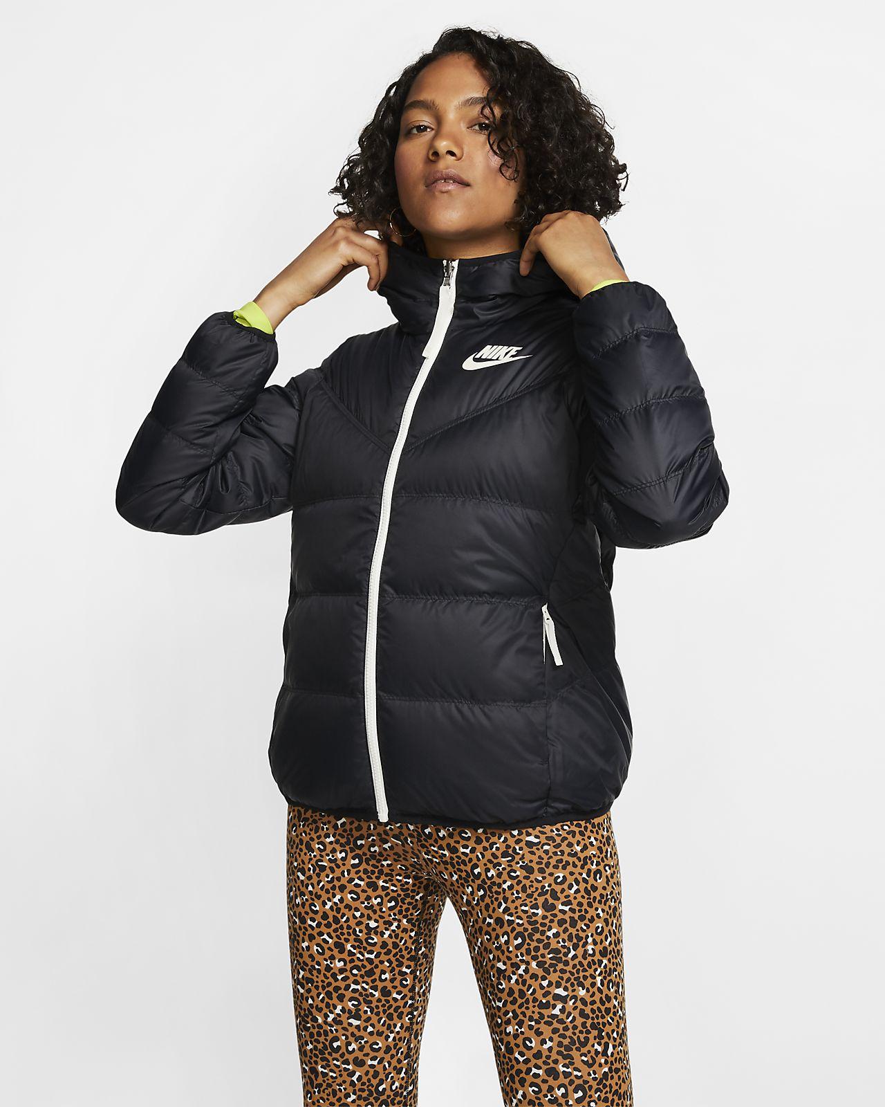 Nike Sportswear Windrunner Down Fill vendbar jakke til dame