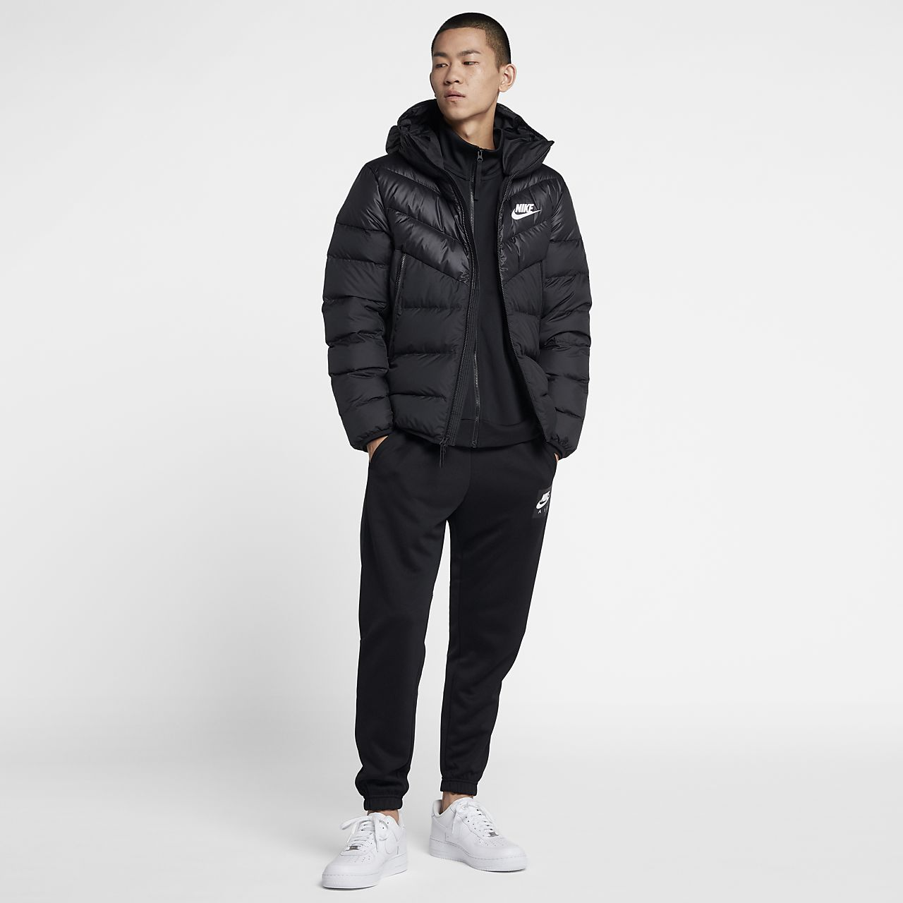884eb9f82 Nike Sportswear Windrunner Down-Fill Men's Hooded Jacket