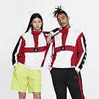 Blanc/Rouge sportif/Noir/Blanc