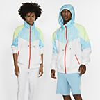 Blanc/Regard Azur/Jaune pâle électrique/Blanc