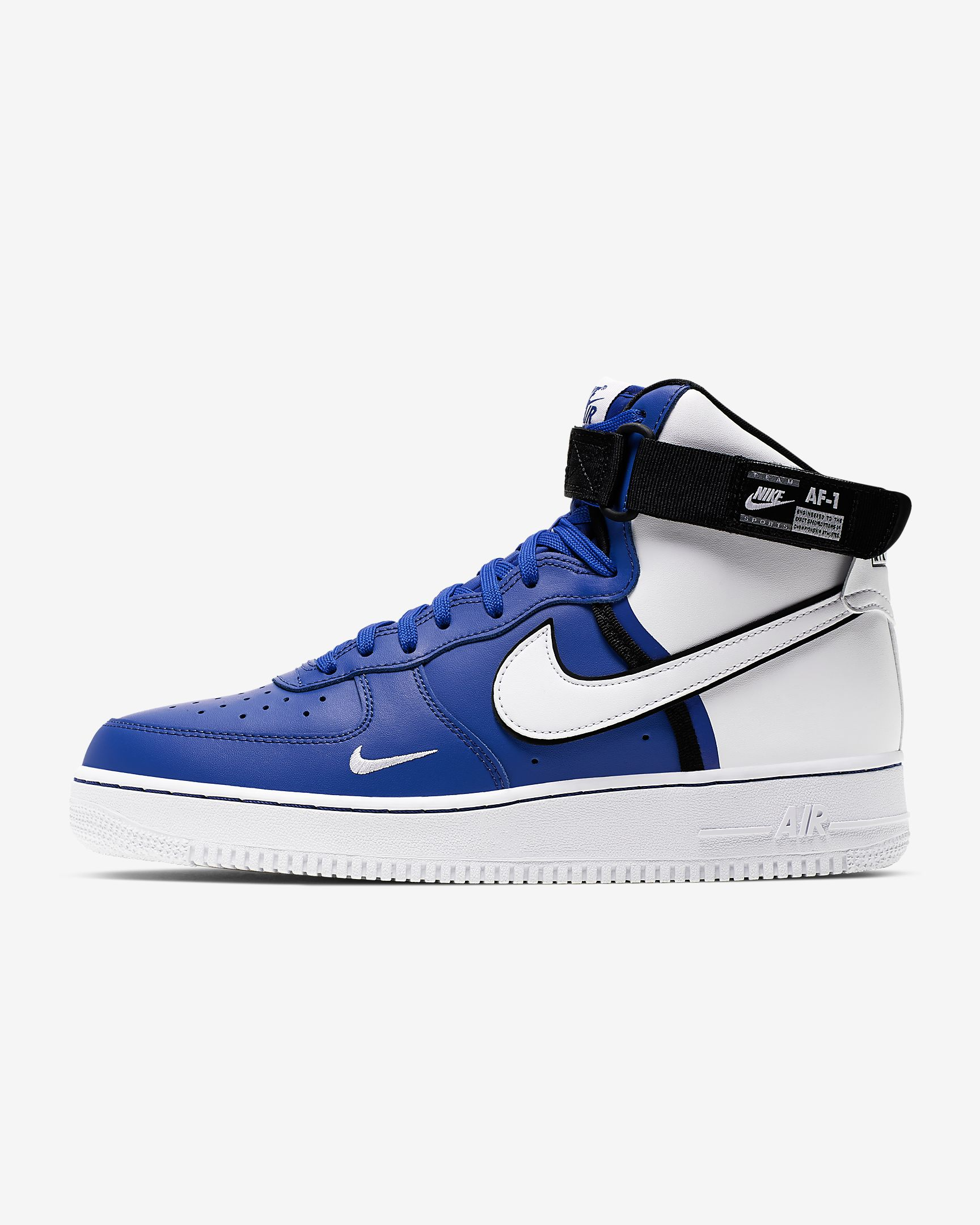 Nike Air Force 1 High 07 Lv8 Game Royal Black