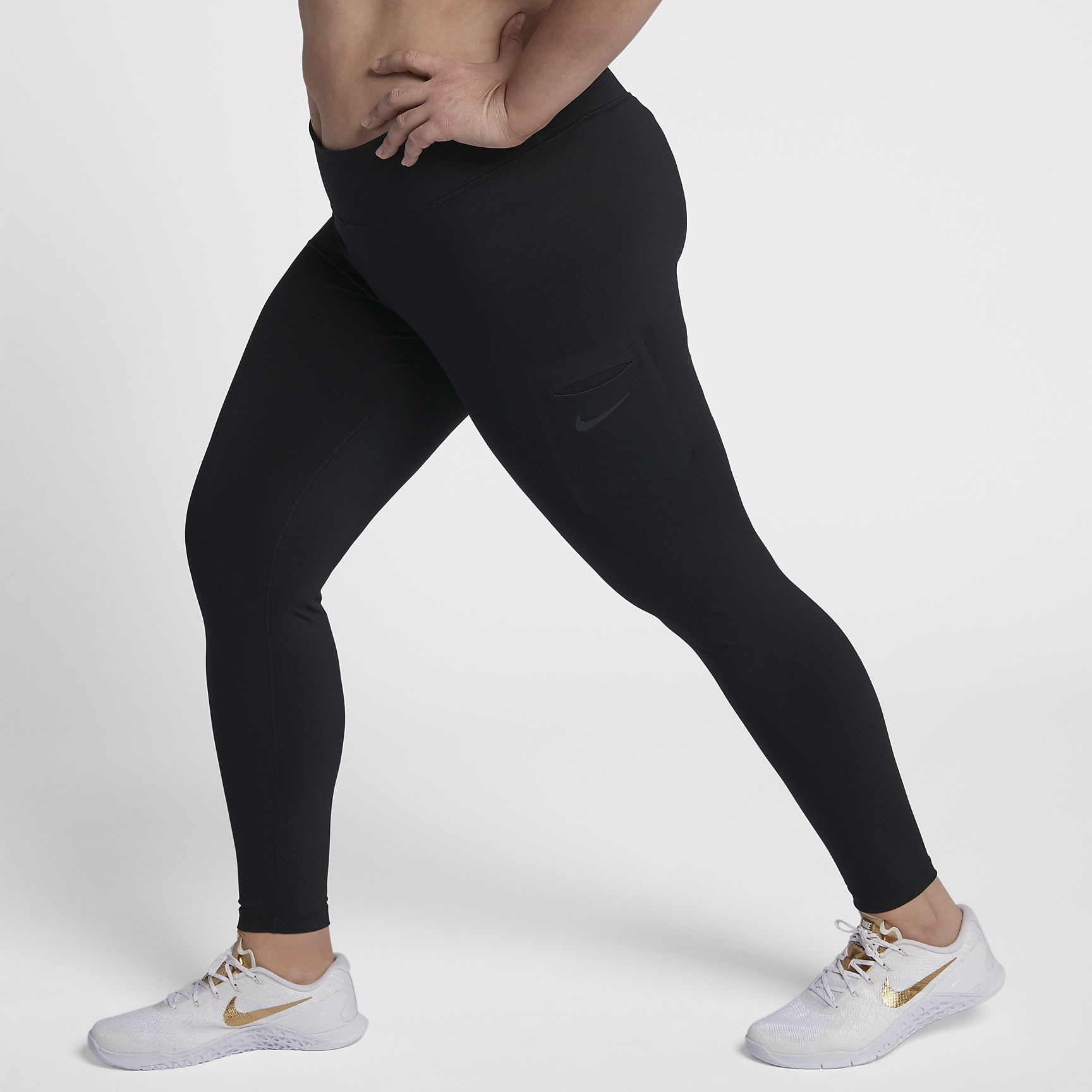 Women's Training Tights (Plus Size) Nike Power