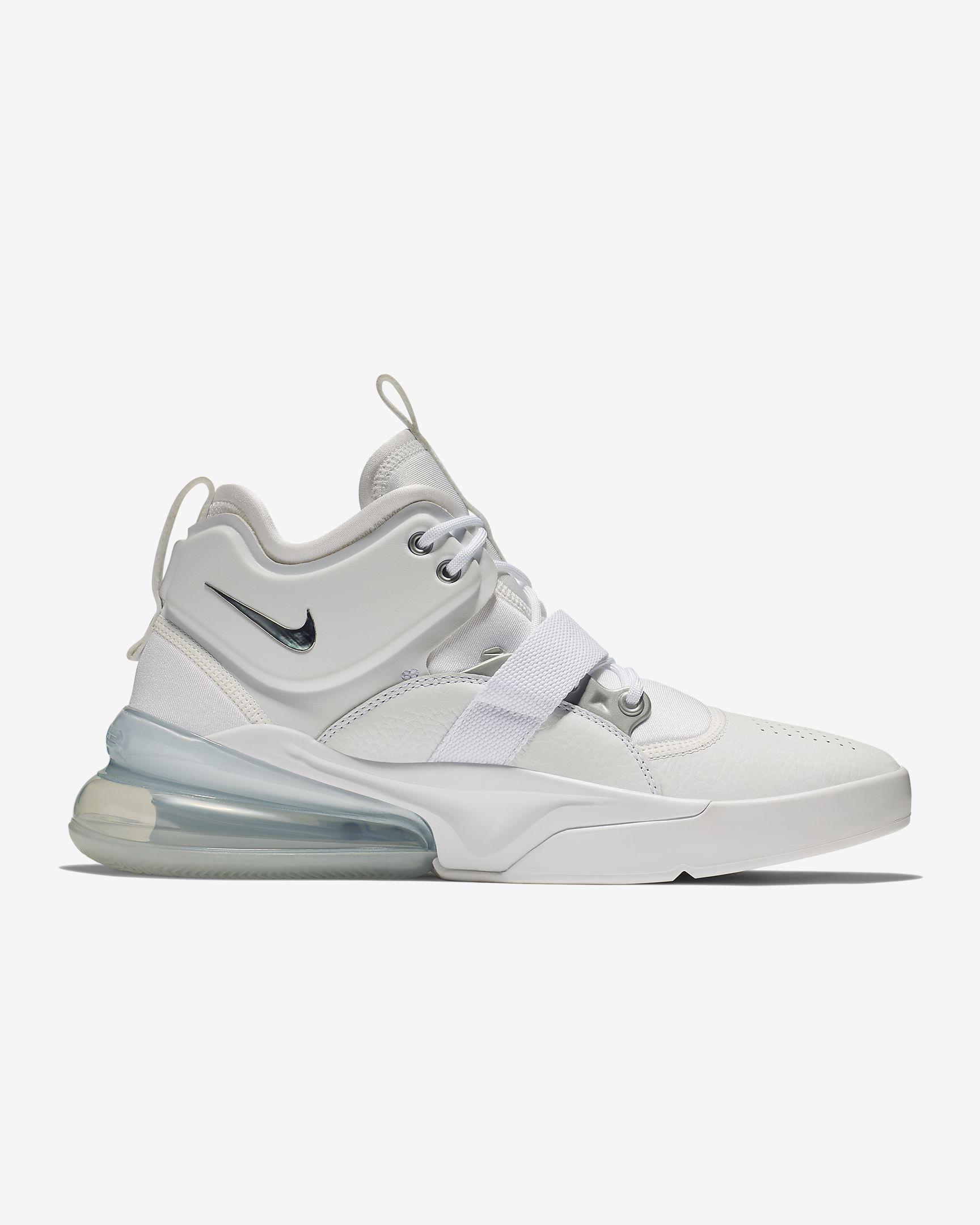 f1df355218 Nike Air Force 270 'White/Metallic Silver'