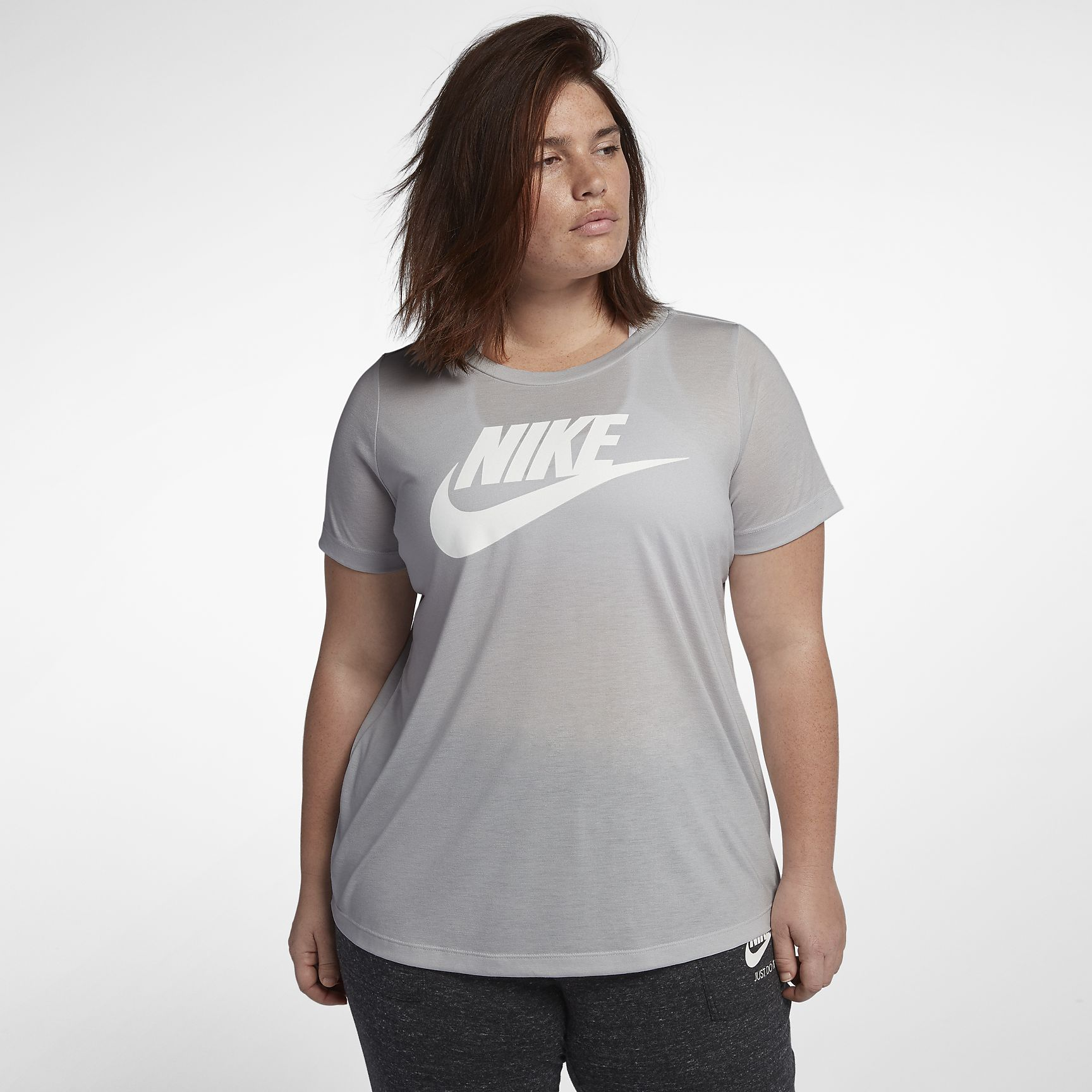 Women's T-Shirt (Plus Size) Nike Sportswear Essential for Mothers Day deals