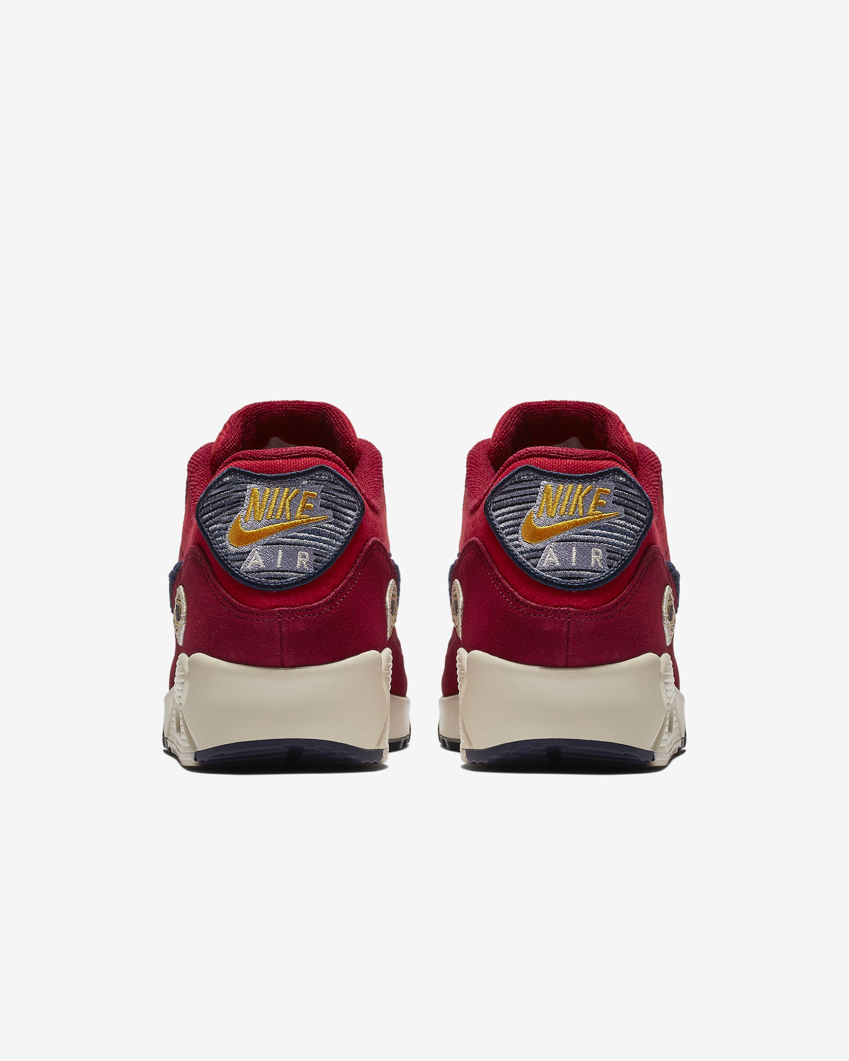 Nike Air Max 90 Chenille Swoosh rojo | 858954 600