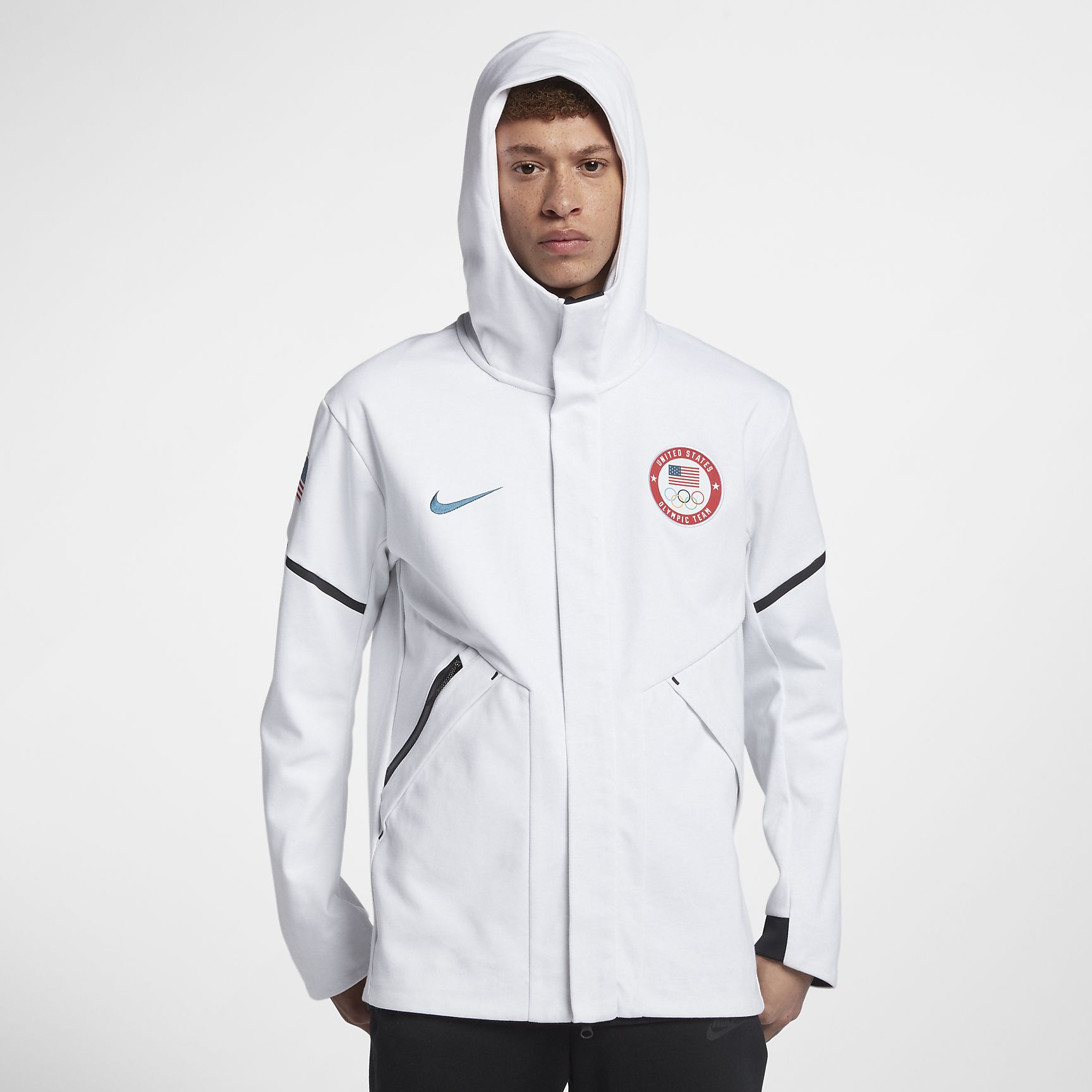 Nike Tech Fleece Team USA Windrunner Men's Jacket $275
