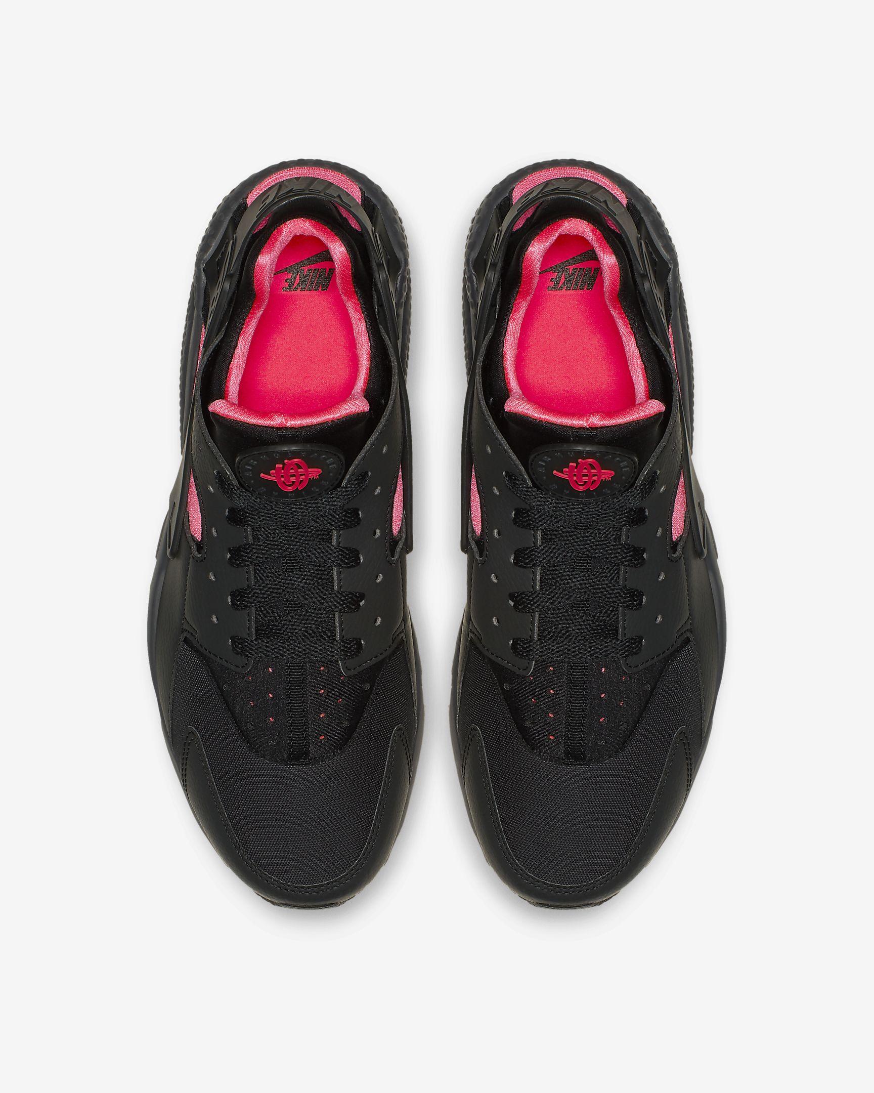 Nike Air Huarache 'Black/Solar Red'