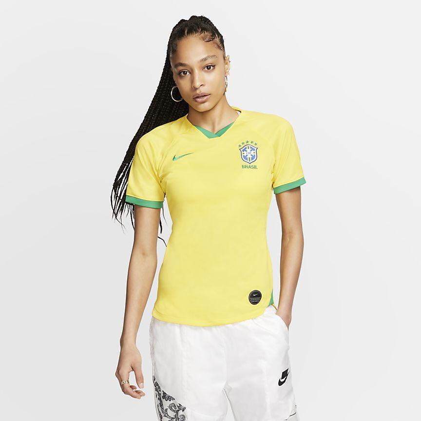 5dc16c311e43a Venkovní dres Stadium 2019 národního týmu Brazílie. Nike.com CZ
