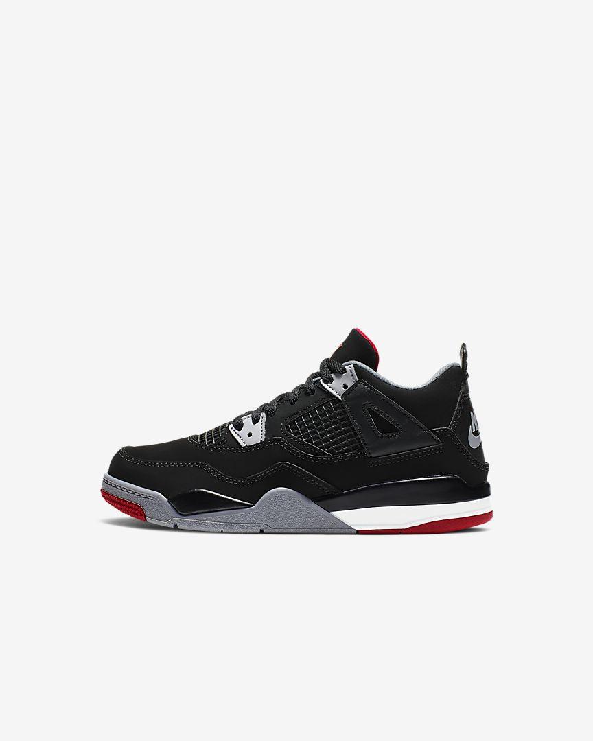 Air Jordan 4 Retro [Preschool]