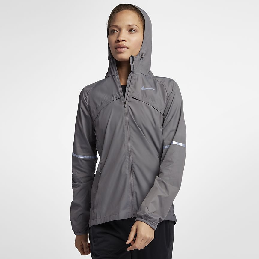 Nike - Nike Shield Damen-Laufjacke - 1