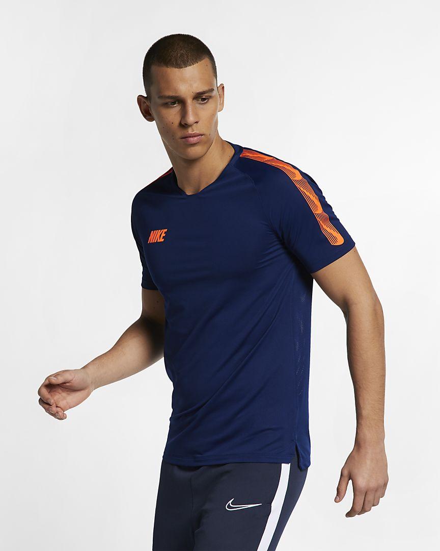 Nike - Nike Breathe Squad Camiseta de fútbol de manga corta - Hombre - 1