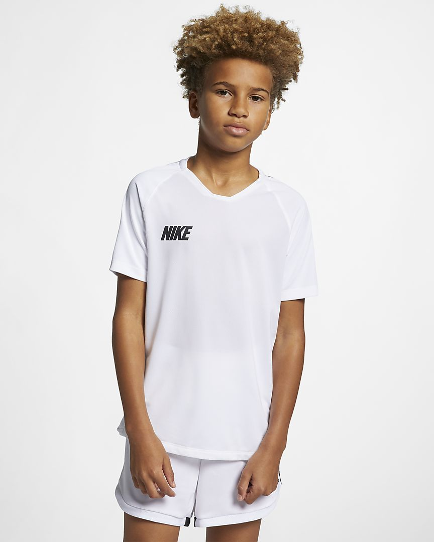 Nike - Nike Breathe Squad Camiseta de fútbol de manga corta - Niño/a - 1