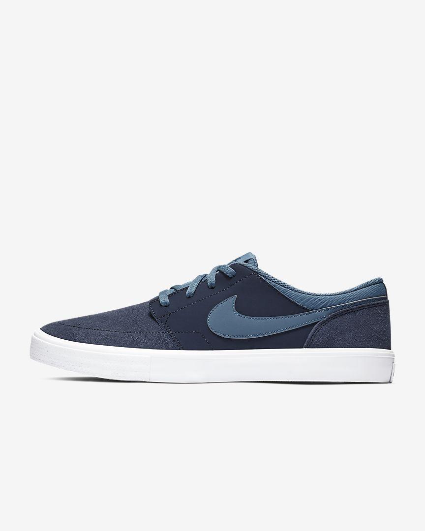 Nike - sb solarsoft portmore ii  skateboarding shoe - 1
