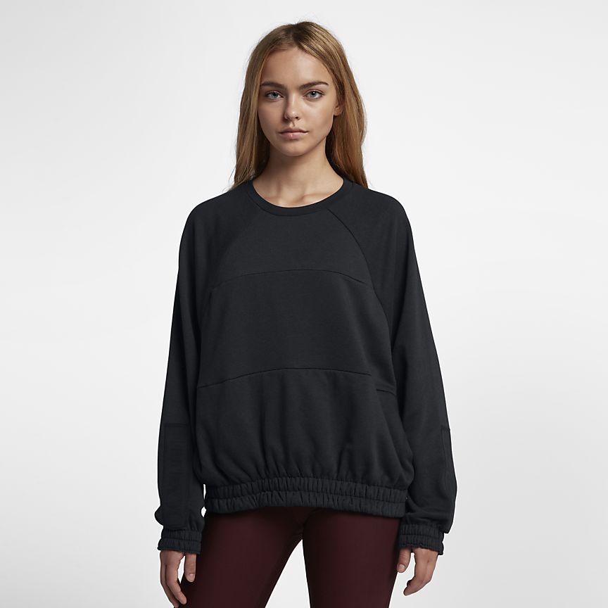 Nike - Hurley One And Only Dolman Fleece Damen-Rundhalsshirt - 1