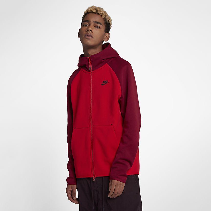 Nike - Nike Sportswear Tech Fleece Herren-Hoodie mit durchgehendem Reißverschluss - 1