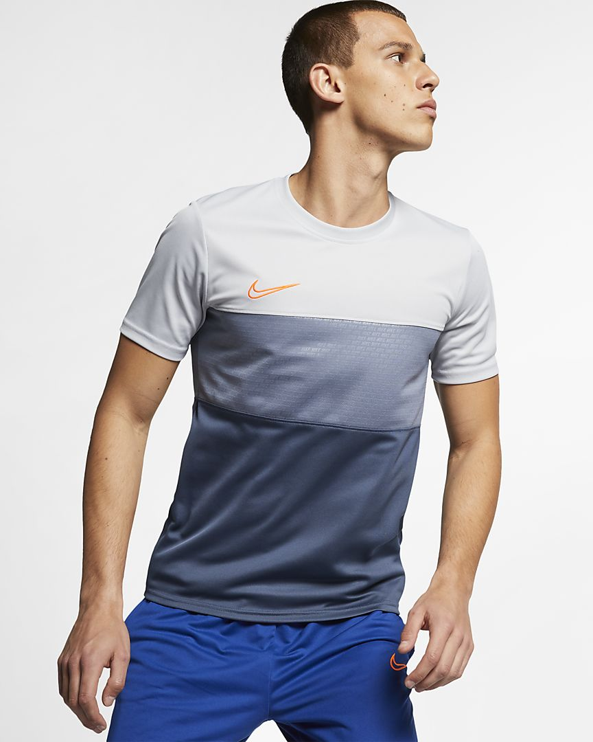 Nike - dri-fit academy  football short-sleeve top - 1