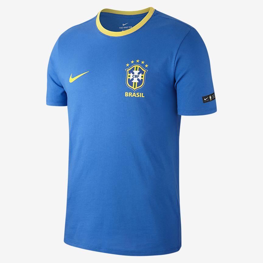 Nike - Brasilien CBF Crest Herren-T-Shirt - 1