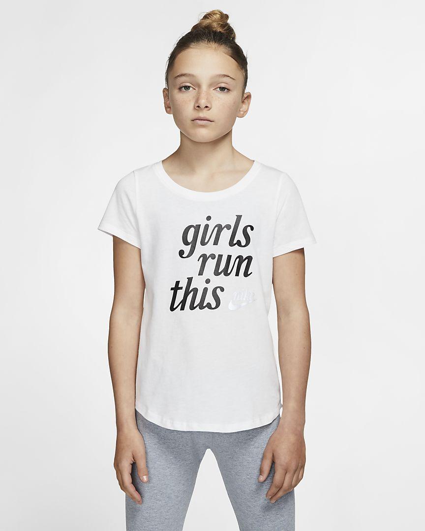 Nike - Nike Sportswear Camiseta - Niña - 1