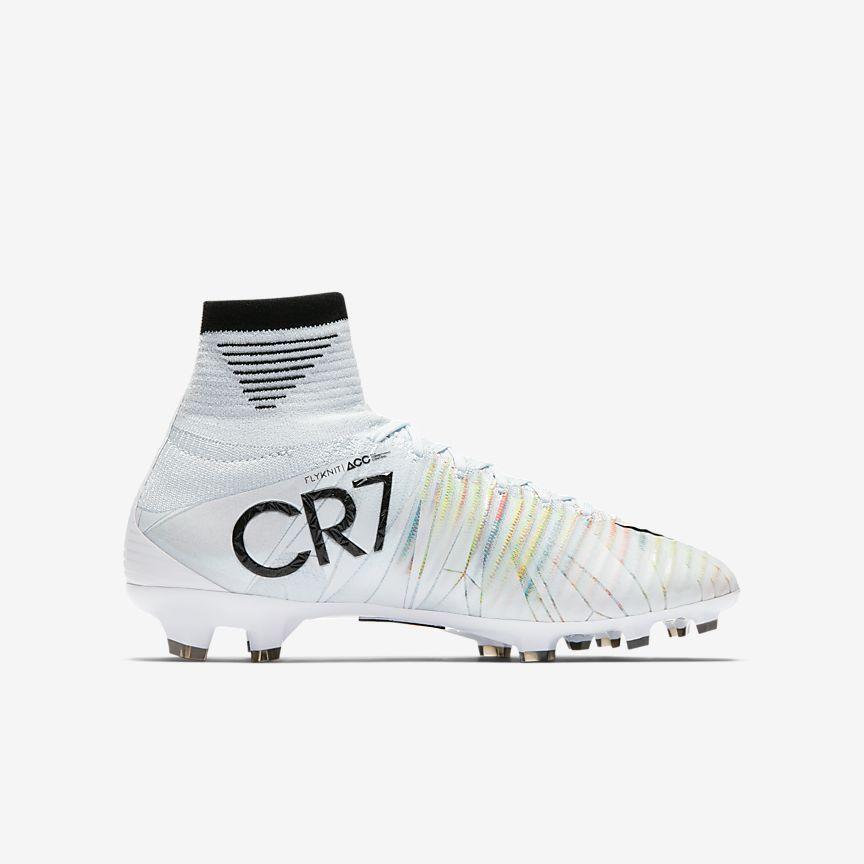 Nike - Chaussure de football à crampons pour terrain sec Nike Jr. Mercurial Superfly V CR7 Dynamic Fit pour Jeune enfant/Enfant plus âgé - 3