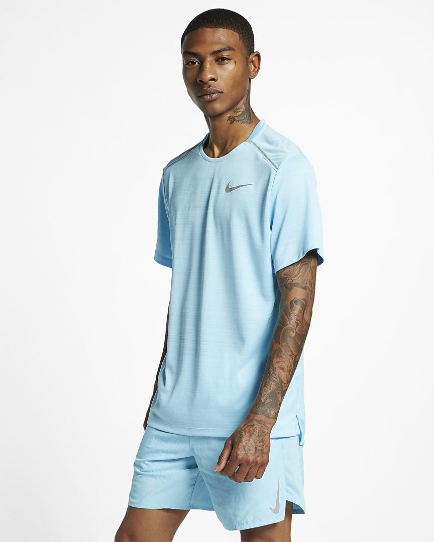 Nike - Nike Dri-FIT Miler Camiseta de running de manga corta - Hombre - 1