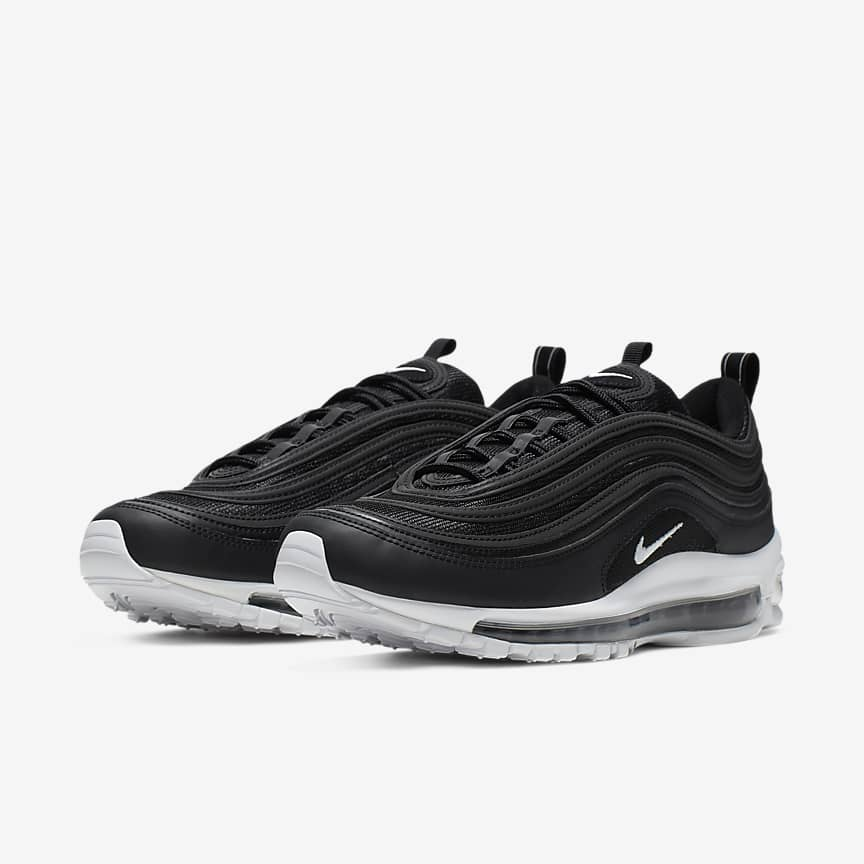Nike Air Max 97 Hommes Chaussures Blanches u24Xf