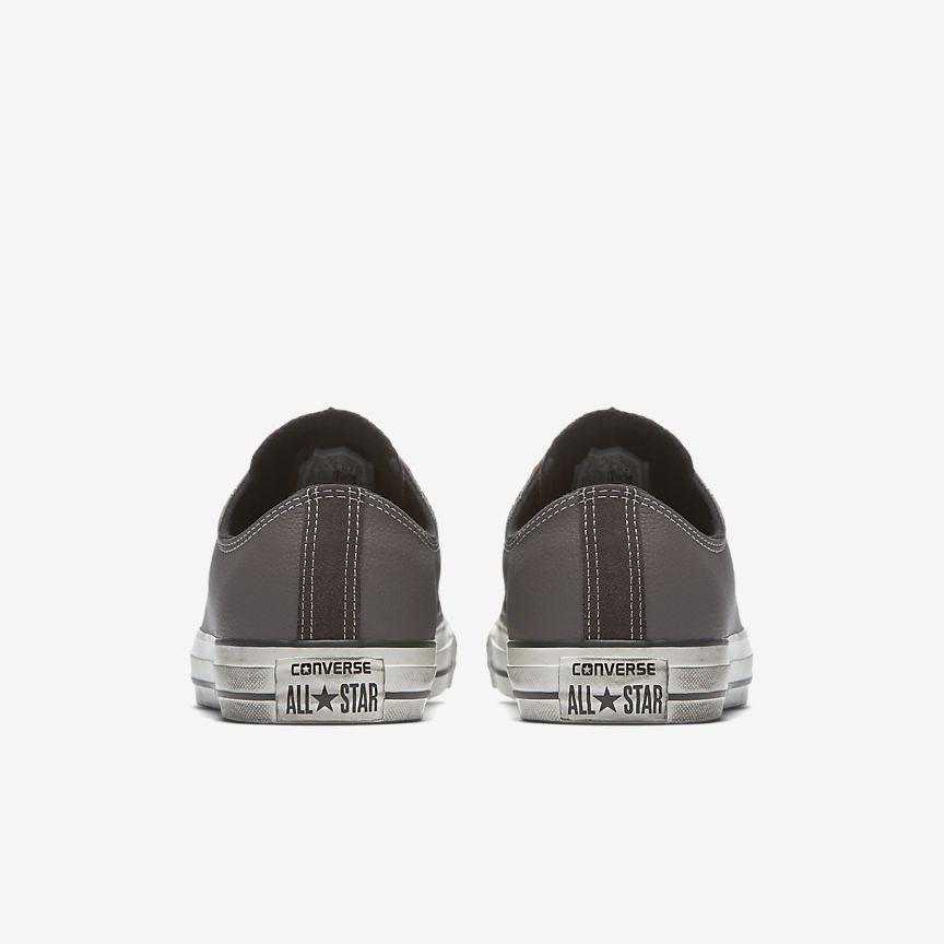 Converse Chuck Taylor All Estrella De Cuero De Zapatos Unisex Superior Baja KQ3GMjt