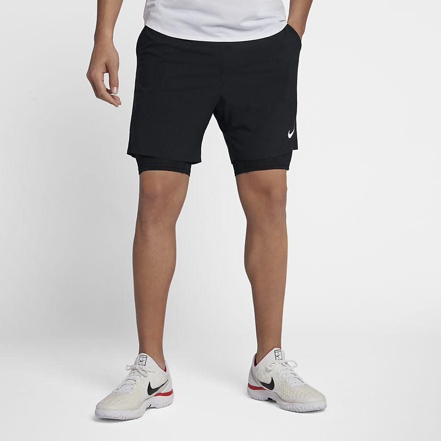 Nike - NikeCourt Flex Ace Herren-Tennisshorts (ca. 18 cm) - 1