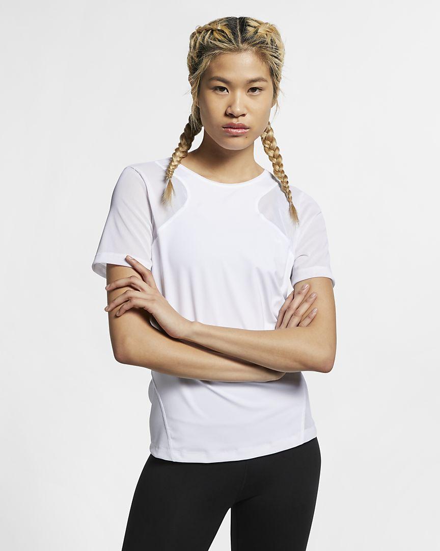 Nike - Nike Pro HyperCool Kurzarmoberteil für Damen - 1