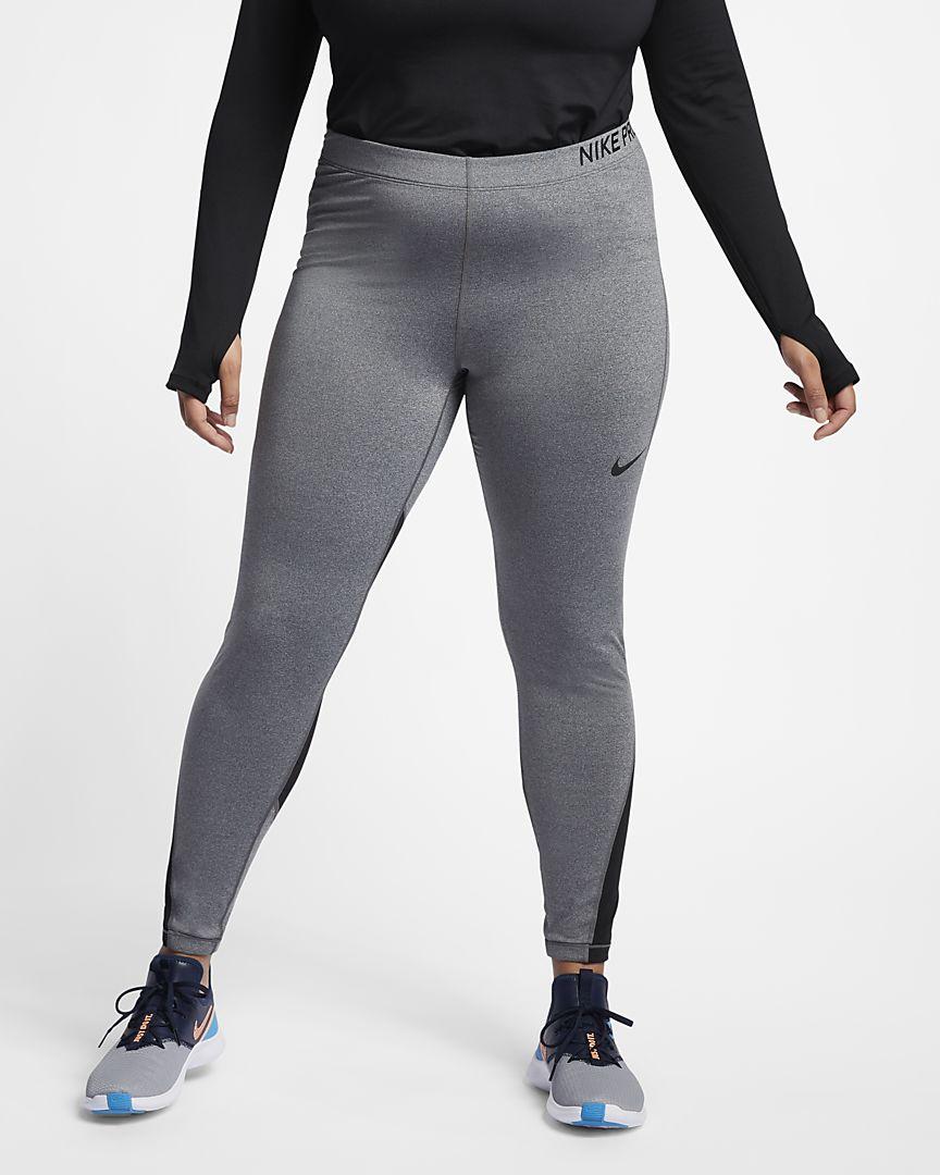 Nike - Nike Pro Trainings-Tights mit halbhohem Bund für Damen (große Größe) - 1