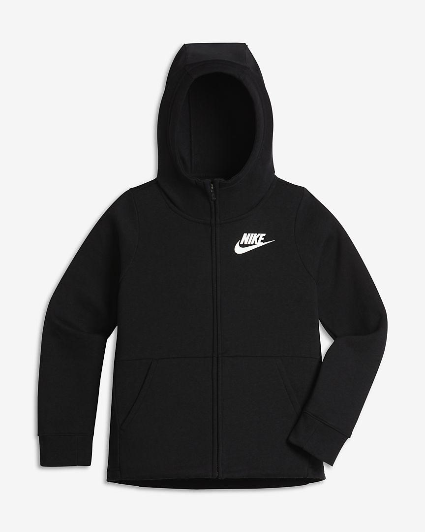 Nike - Nike Sportswear Hoodie für ältere Kinder (Mädchen) mit durchgehendem Reißverschluss - 1