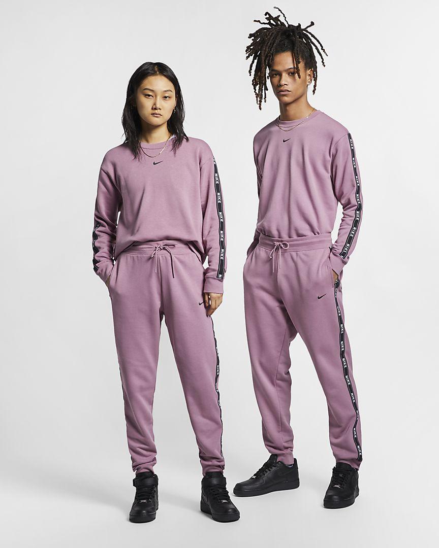 Nike - sportswear logo trousers - 1