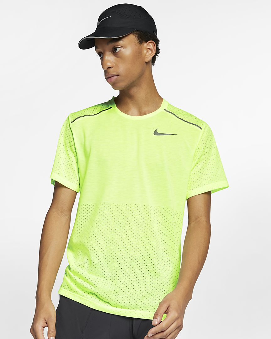 Nike - rise 365  short-sleeve running top - 1