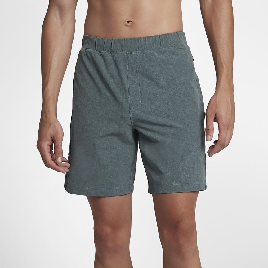 Nike - Hurley Alpha Trainer Plus Herrenshorts (ca. 45,5 cm) - 1