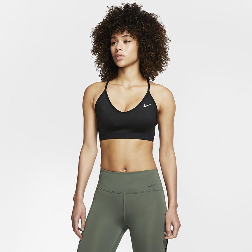 Nike - Nike Indy Sujetador deportivo de sujeción ligera - Mujer - 1