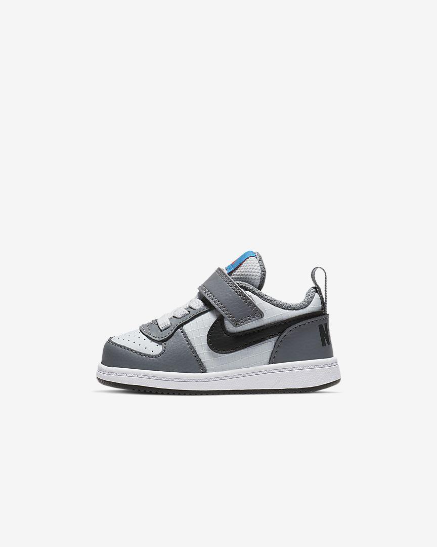 Nike - court borough low baby & toddler shoe - 1
